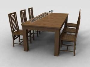 meja kursi makan minimalis jepara